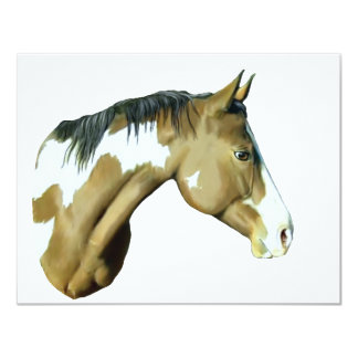 Paint Horse, Lady Card