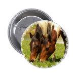 Paint Horse Love  Button