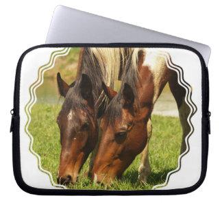 Paint Horse Love Electronics Bag Laptop Computer Sleeve