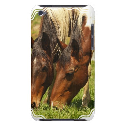 Paint Horse Love iTouch Case Barely There iPod Covers