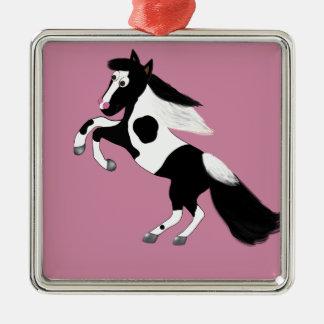 Paint Horse Metal Ornament
