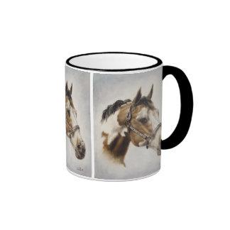 Paint Horse Mug in Black