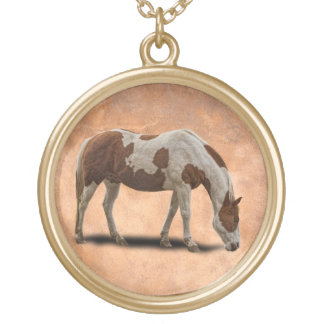PAINT HORSE PERSONALIZED NECKLACE