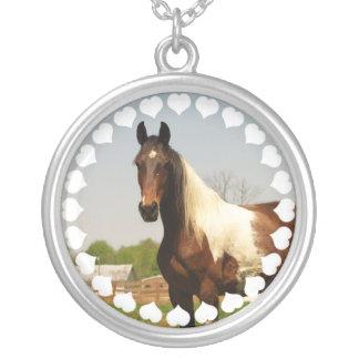 Paint Horse Necklace