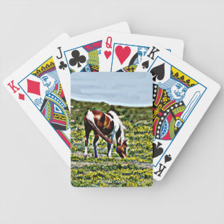Paint Horse Playing Cards
