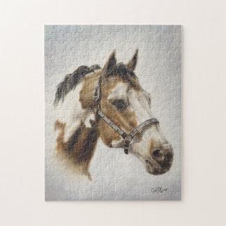 Paint Horse Puzzle