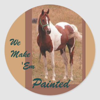 Paint Horse Stickers 1