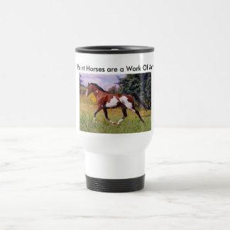 Paint Horse trotting Mug