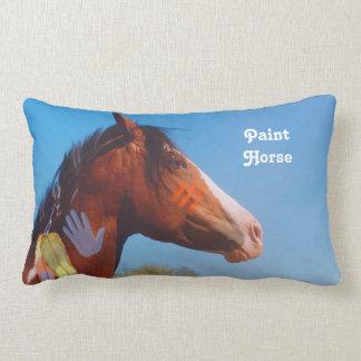 Paint Horse war pony MoJo Pillow