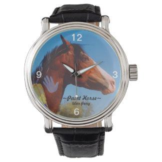 Paint Horse war pony Watch