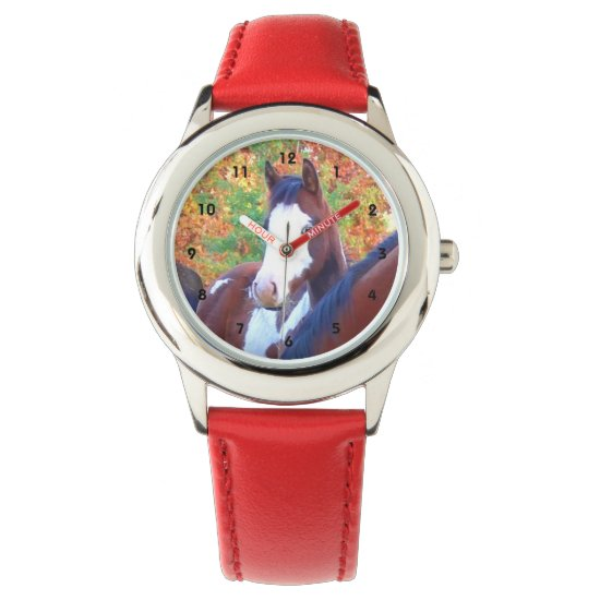 Paint Horse Watches for Kids
