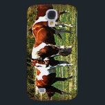 "Paint Horses Galaxy S4 Cover<br><div class=""desc"">Paint Horses - Paints have always been my favorite horse. In fact my store is named in memory of one of my paints.</div>"