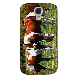 Paint Horses Galaxy S4 Cover
