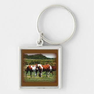 Paint Horses Keychain