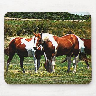 Paint Horses Mouse Pad