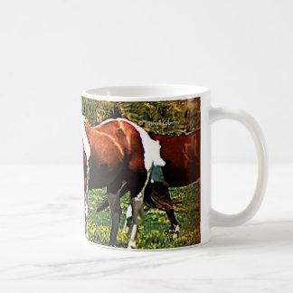 Paint Horses Classic White Coffee Mug