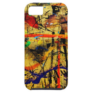 Paint in abstact on a table iPhone SE/5/5s case