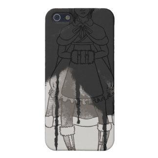 Paint It Black Case For iPhone SE/5/5s