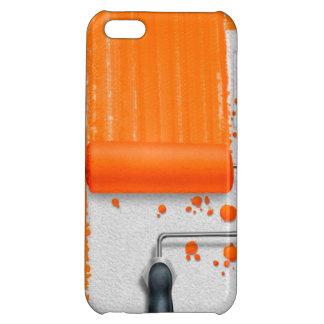 Paint It Orange Cover For iPhone 5C