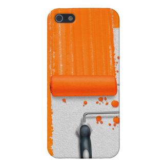 Paint It Orange iPhone SE/5/5s Case