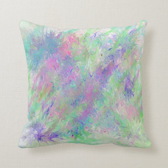 Paint It Purple And Greet Pillow