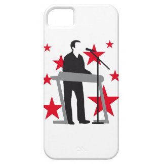 paint key board more player iPhone SE/5/5s case