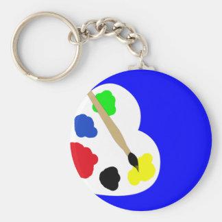 Paint Keychain