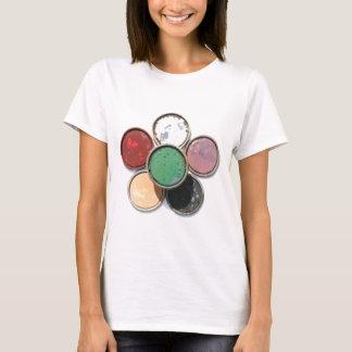 paint lid flower T-Shirt