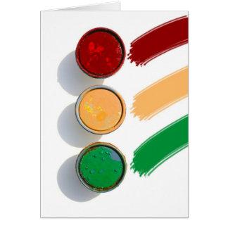 Paint lids card