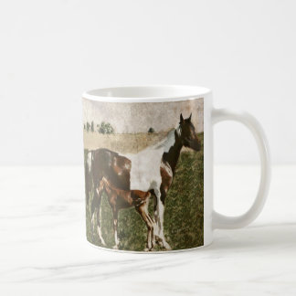 Paint Mare and Foal Mug