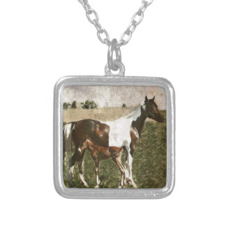 Paint Mare and Foal Jewelry