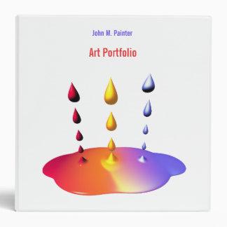 Paint Mix Portfolio Binders