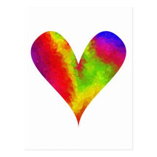 Paint-my-Heart Joyful Postcard