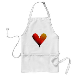Paint-my-Heart Overflowing Adult Apron