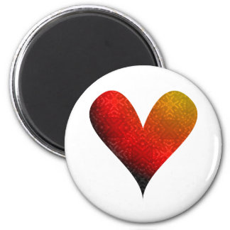 Paint-my-Heart Overflowing Magnet