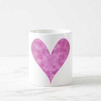 Paint-my-Heart Pink Coffee Mug