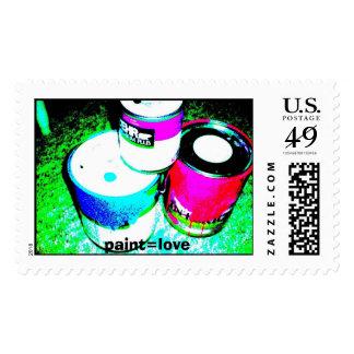 paint, paint=love stamp