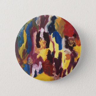 Paint Palette Abstract Button