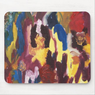 Paint Palette Abstract Mouse Pads