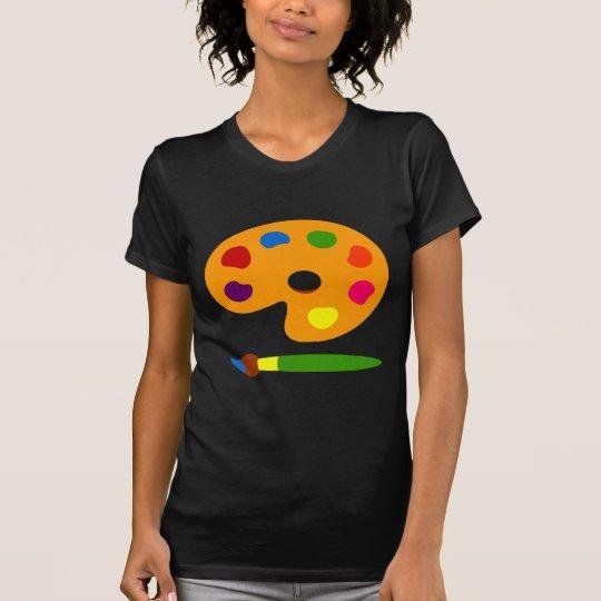 Paint Palette Art T-Shirt