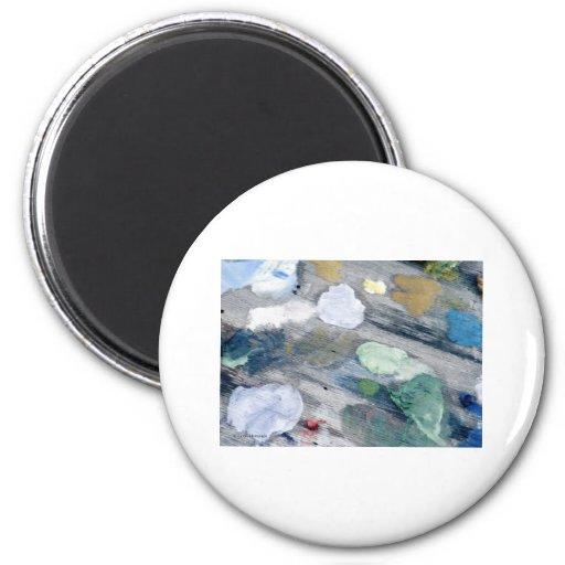 Paint Pallet Fridge Magnet