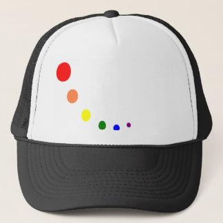 paint pallet trucker hat