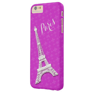 Paint Paris Pink iPhone 6 plus Barely There iPhone 6 Plus Case