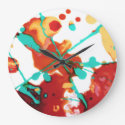 Paint Party 1 Clocks