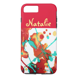 Paint Party Abstract Personalized iPhone 8 Plus/7 Plus Case