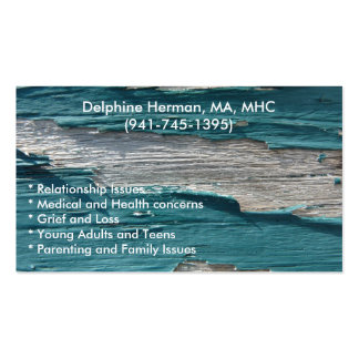 Paint Peel 3-1 Double-Sided Standard Business Cards (Pack Of 100)