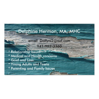 Paint Peel 3-4 Double-Sided Standard Business Cards (Pack Of 100)