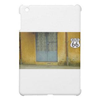 Paint peeling Wall on Route 66 iPad Mini Cases