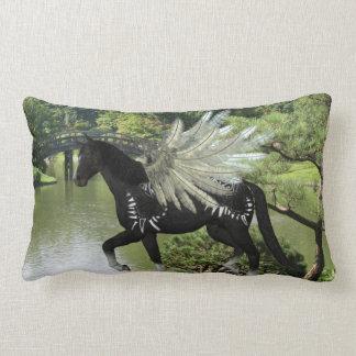 Paint Pegasus Throw Pillows