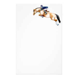 Paint Pinto Hunter Jumper Horse Stationery